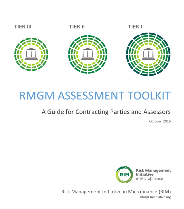 RMGM ASSESSMENT TOOLKIT